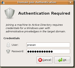 Screenshot-Domain Join Authentication