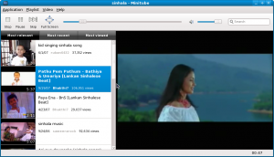 Screenshot-sinhala - Minitube
